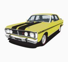 Ford Falcon XY GT - Yellow Ochre Baby Tee
