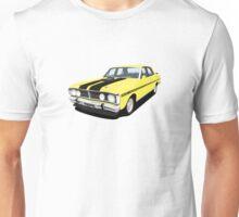 Ford Falcon XY GT - Yellow Ochre Unisex T-Shirt