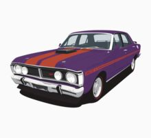 Ford Falcon XY GT - Wild Violet by antdragonist