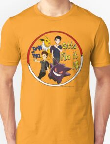 Dan and Phil Pokemon Trainer Pokeball Shirt T-Shirt