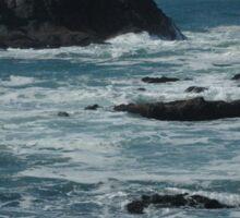 Stormy Coast Sticker