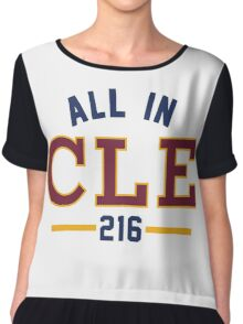 All in CLE 216 Chiffon Top
