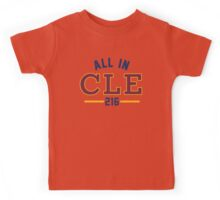 All in CLE 216 Kids Tee