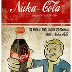Fallout Nuka-Cola ad phonecase by Smakly