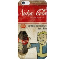 Fallout Nuka-Cola ad phonecase iPhone Case/Skin