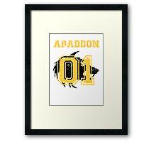 Team Captain: Abaddon Framed Print