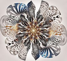 Zebra Flower by Anastasiya Malakhova