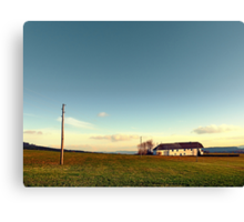 The serenity of countryside life | landscape photography Canvas Print