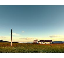 The serenity of countryside life | landscape photography Photographic Print