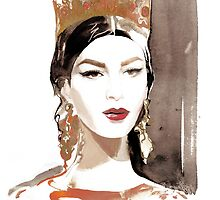 Kate King for Dolce&Gabbana by meliquestreet