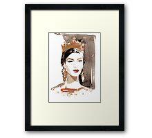Kate King for Dolce&Gabbana Framed Print