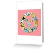 Pokécircle Greeting Card