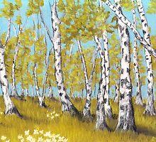 Birch Grove by Anastasiya Malakhova