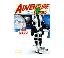 Adventure Stories the Girl From Mars Photographic Print