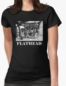 Flathead Womens Fitted T-Shirt