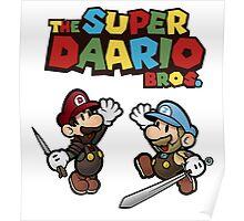 The Super Daario Bros. Poster