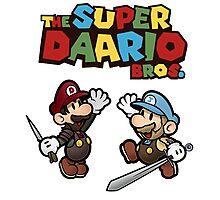 The Super Daario Bros. Photographic Print