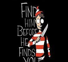 find waldo by Krazylarry96