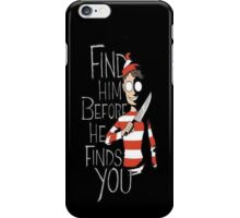 find waldo iPhone Case/Skin
