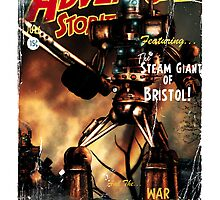 Adventure Stories The Steam Giant by simonbreeze
