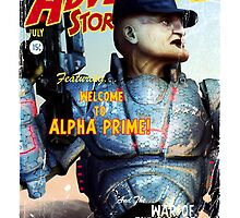 Adventure Stories Welcome to Alpha Prime by simonbreeze