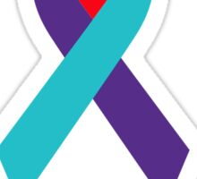 Support Suicide Awareness - Ribbon Sticker