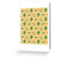 wild west pattern Greeting Card