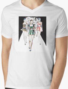 Ginta Lapina for Dolce&Gabbana Mens V-Neck T-Shirt