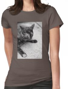 Street Cat (Clothing Products) Womens Fitted T-Shirt