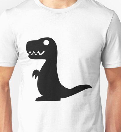 Dino Black Unisex T-Shirt