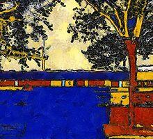 Vincent's Japanese Garden by RC deWinter