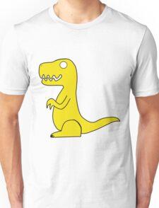 Dino Yellow Unisex T-Shirt