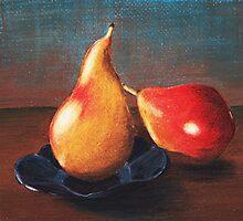 Two Pears by Anastasiya Malakhova
