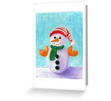 Little Snowman Greeting Card