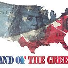 Land of the Greed by joebarondesign