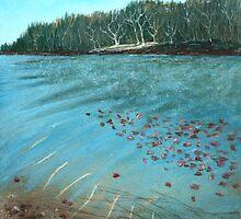 Lake by Anastasiya Malakhova