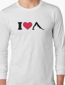 I love Pilates Long Sleeve T-Shirt