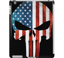 The Punisher American Flag Grunge iPad Case/Skin