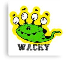 Wacky Alien by Jeronimo Rubio 2016 Canvas Print
