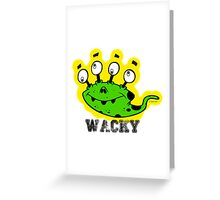 Wacky Alien by Jeronimo Rubio 2016 Greeting Card