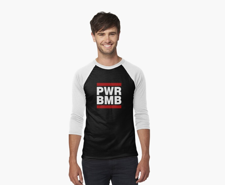 PWR BMB WHITE by newdamage