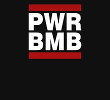 PWR BMB WHITE Men's Baseball ¾ T-Shirt