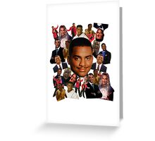 Carlton collage Greeting Card