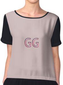 GG-Bra Chiffon Top