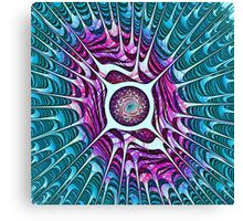 Water Dragon Eye Canvas Print