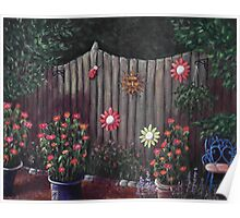 Summer Garden Poster