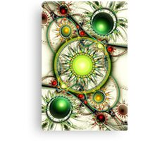 Green Jewelry Canvas Print