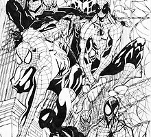 Spider-Men by Wasif