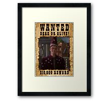 Buffy Giles Wanted 2 Framed Print