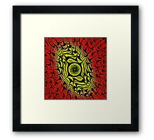 Fire Dragon Eye Framed Print